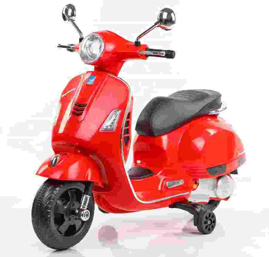 Vespa Rechargeable Battery Operated Ride-on Scooter for Kids